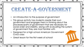 Create a Government