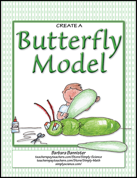 Create a Model of a Butterfly ★ FREEBIE ★