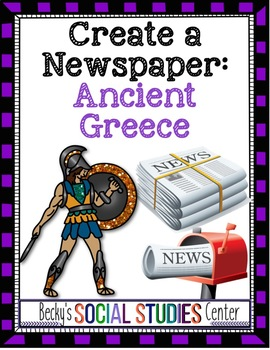 Create a Newspaper Project of the Persian Wars - Ancient Greece