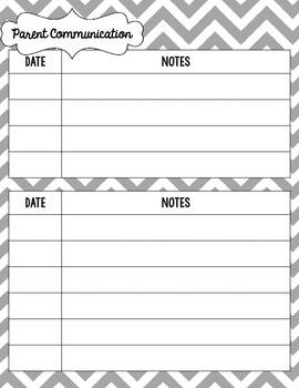 {Create a Planner} Parent Communication