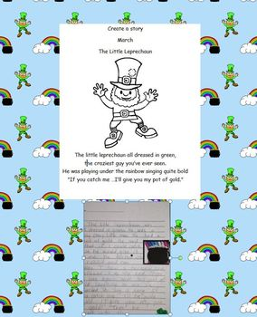 Create a Story March Creativity St.Patrick's Day