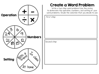 Create - a - Word Problem