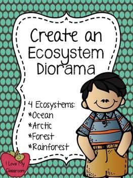 Create an Ecosystem Diorama {Forest, Ocean, Rainforest, an