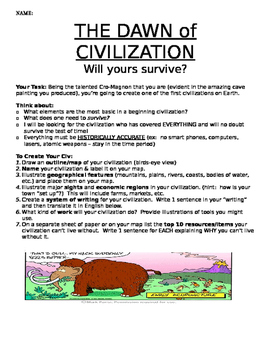 Create your Civilization