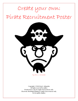 Create your own:  Pirate Recruitment Poster