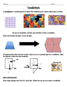 Create your own Tessellations