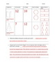 Creating 3D shapes worksheet