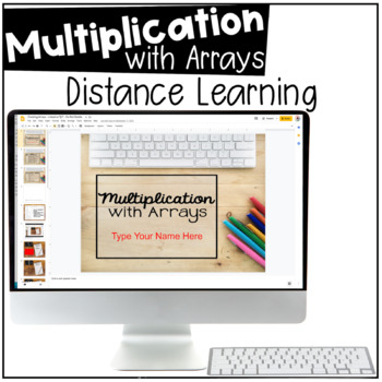 Creating Arrays with Multiplication - Digital Resource for