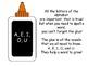 Creating CVC Words with Vowel Glue!