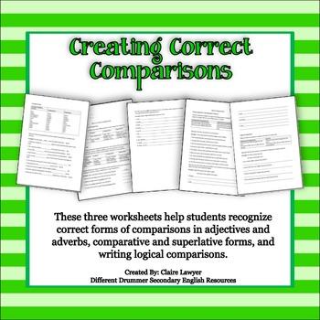 Creating Correct Comparisons Activity