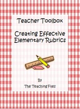 Creating Effective Elementary Rubrics