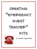 Creating Emergency Guest Teacher Kits