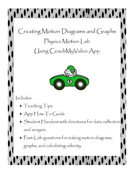 Creating Motion Diagrams and Graphs: Technology Based Physics Lab