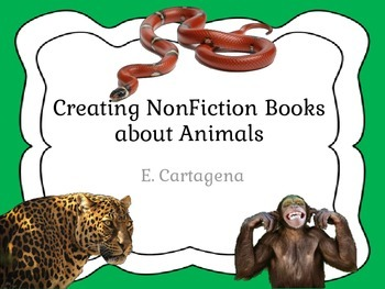 Creating NonFiction Books about Animals