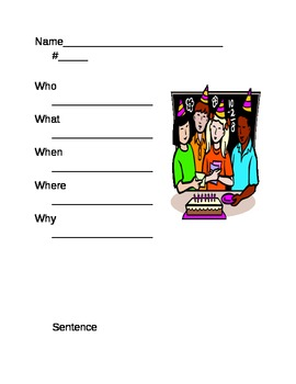 Creating Sentences with Pictures