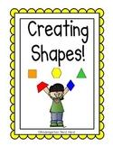 Creating Shapes: First Grade Math