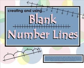 SMARTboard: Creating & Using Blank Number Lines (CCLS Alig