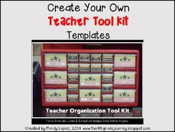 Creating Your Own Teacher Tool Kit: Templates & Tutorial