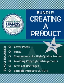 Creating a Product - Tutorial Bundle!