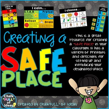 Creating a Safe Place [Posters, Materials, and Guide for Setup]