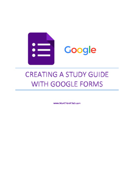 Creating a Study Guide with Instant Feedback