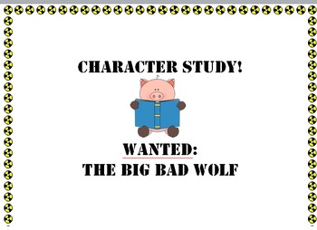 Creating a Wanted Poster for the Big Bad Wolf