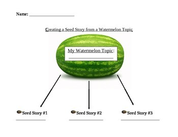 Creating a seed story