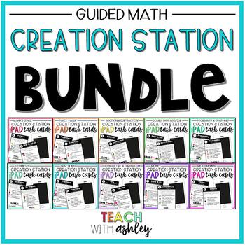 Creation Station Task Cards BUNDLE