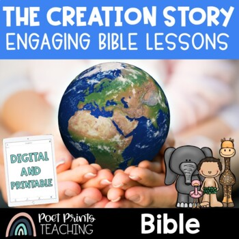 Creation Story Bible Unit, Lessons