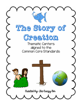 """Homeschool """"Creation"""" Centers aligned to the Common Core"""