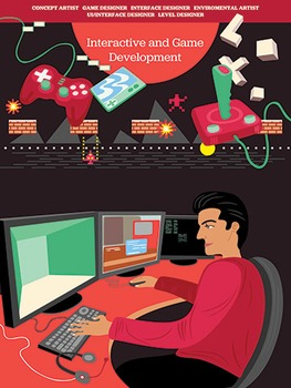 Creative Art Careers Classroom Poster - Interactive and Ga