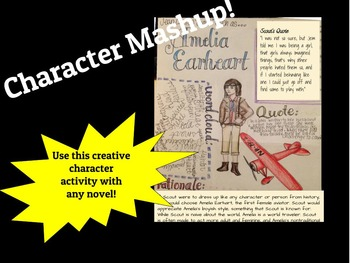 Creative Character Mashup