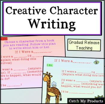 Creative Character Writing for Promethean Board Use