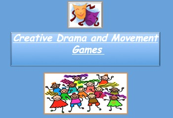 Creative Drama Bundle: Lesson Plan and Book of Drama Games