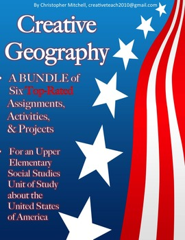 Creative Geography Assignments & Activities Bundle - Unite