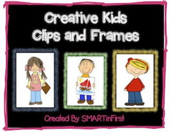 Creative Kids Clips and Frames
