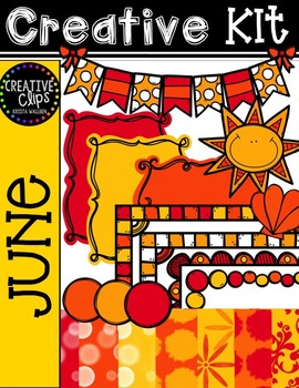 Creative Kit: JUNE {Creative Clips Digital Clipart}