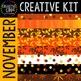 Creative Kit: NOVEMBER {Creative Clips Digital Clipart}