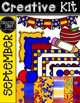 Creative Kit: SEPTEMBER {Creative Clips Digital Clipart}