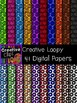 Creative Loopy Papers {Creative Clips Digital Clipart}