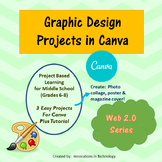 Graphic Design Projects using the Web 2.0 Tool Canva