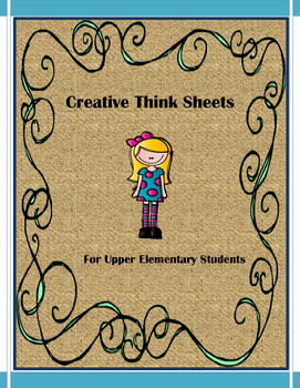 Creative Think Sheets