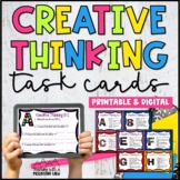 Creative Thinking A-Z Task Cards { Early Finishers , Enric