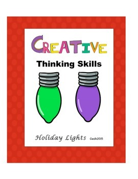 Creative Thinking Skills: Holiday Lights
