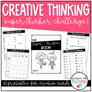 Creative Thinking Super-Thinker Challenge!
