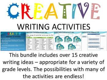 Creative Writing Activity Bundle