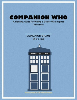Creative Writing Activity for Kids: Write a Doctor Who Ins