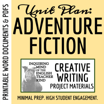 Creative Writing - Adventure Story (Use Sensory Language t