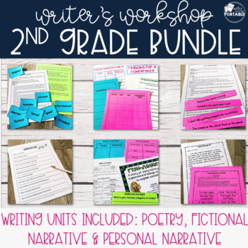 Creative Writing Bundle - Grade 2 (Poetry, Personal, and F