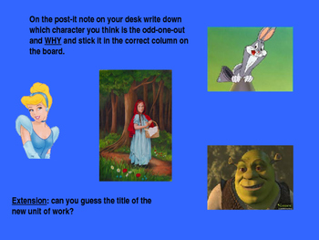 Creative Writing: Fairy Tales